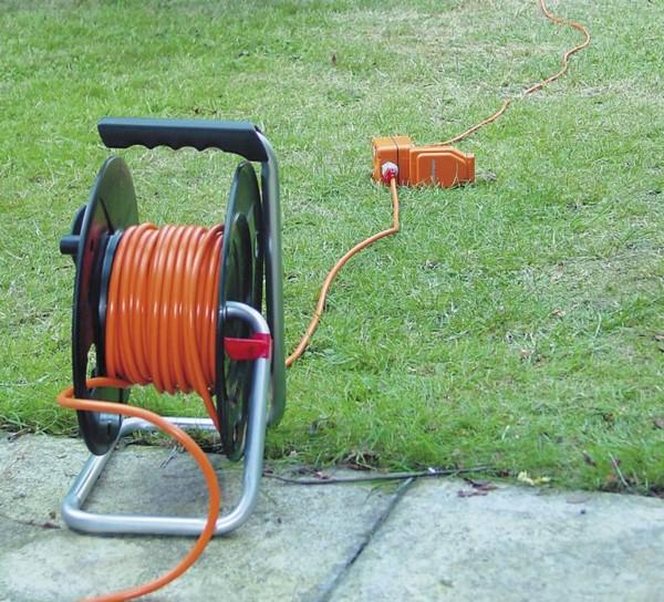 rallonge électrique de jardin