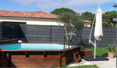 choisir une piscine hors sol en bois