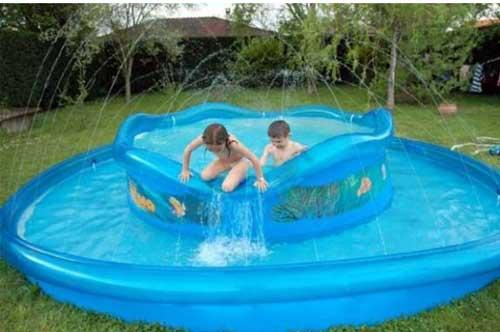 choisir une piscine gonflable à débordement