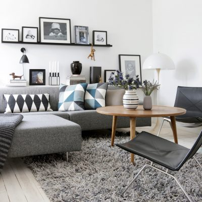 Décoration au dessus du canapé