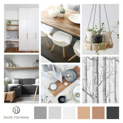 Planche d'ambiance Scandinave