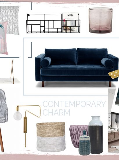 planche d'ambiance et moodboard