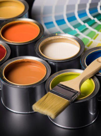Différents types de peintures