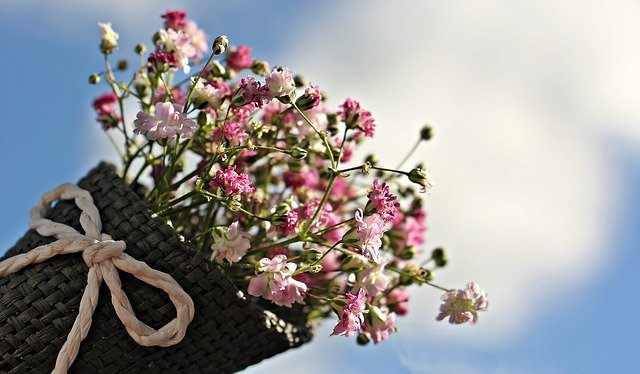 Bouquet de fleurs parfumé