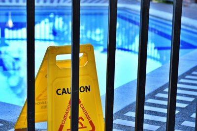 Accessoire de piscine barrière de protection